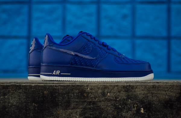 Nike Air Force 1 Low 07 LV8 Woven Black, Red, White & Concord