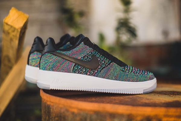 Nike Air Force 1 Flyknit Low 'Blue Lagoon'