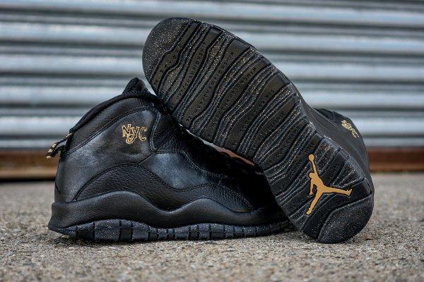 Chaussure Nike Air Jordan 10 Retro NYC (5)