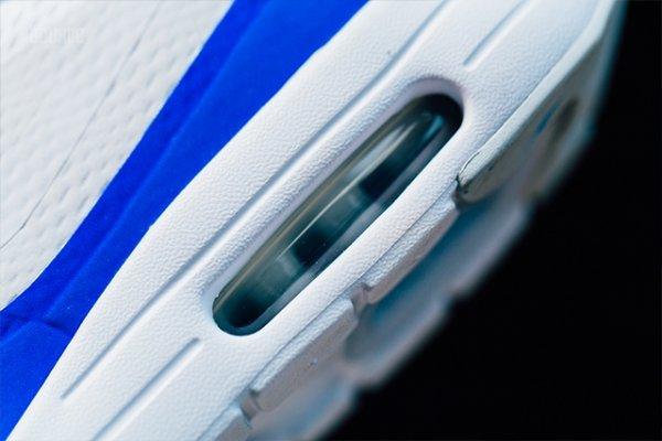 Chaussure Nike Air Max 1 Ultra Essential White Racer Blue (2)