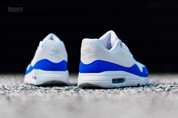 Chaussure Nike Air Max 1 Ultra Essential White Racer Blue (3)