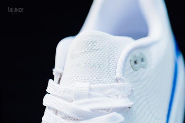 Chaussure Nike Air Max 1 Ultra Essential White Racer Blue (4)