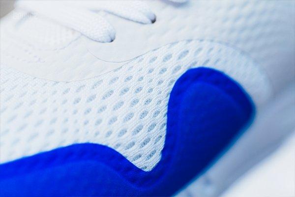 Chaussure Nike Air Max 1 Ultra Essential White Racer Blue (5)
