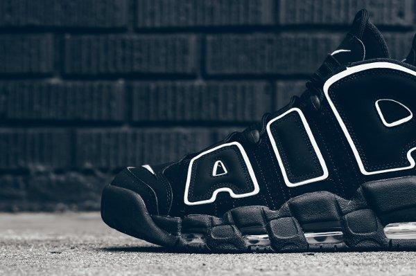 Chaussure Nike Air More Uptempo OG noire retro 2016 pas cher (3)
