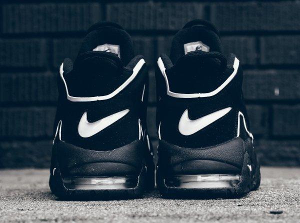 Chaussure Nike Air More Uptempo OG noire retro 2016 pas cher (4)