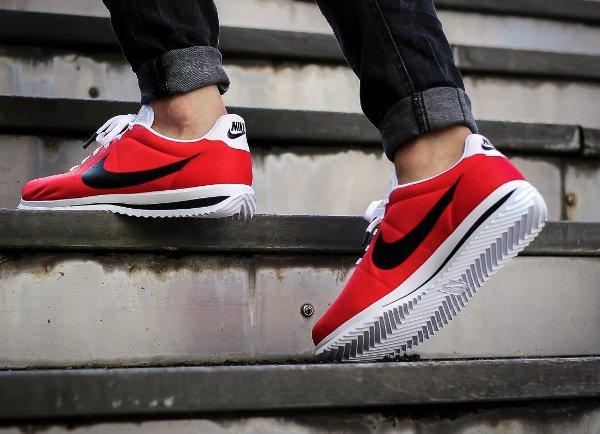 Chaussure Nike Cortez Ultra rouge (2)