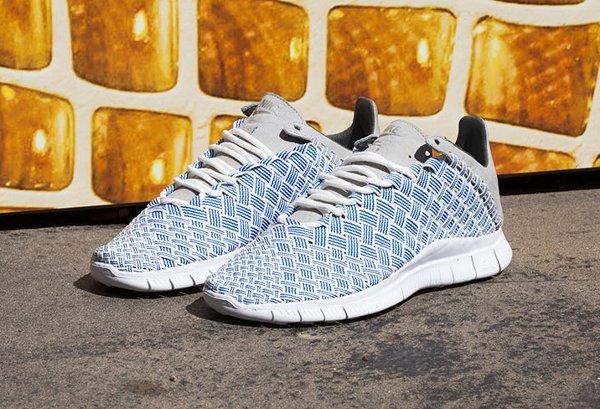 Chaussure Nike Free Inneva Woven Blue Foutain Granite Summit White (1)