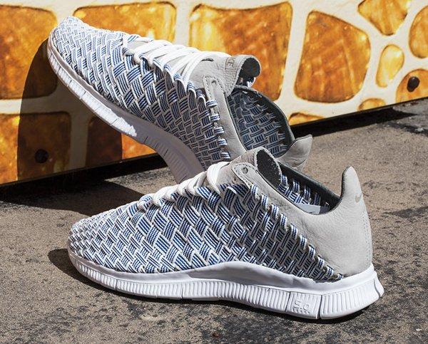 Chaussure Nike Free Inneva Woven Blue Foutain Granite Summit White (3)