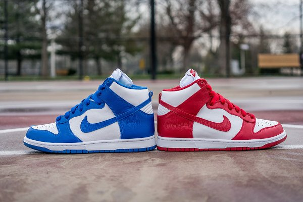 Nike Dunk High Retro Be True St. Johns vs Kentucky 2016 QS