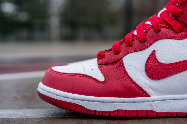 Nike Dunk High Retro University Red Be True To Your School 2016 (1)