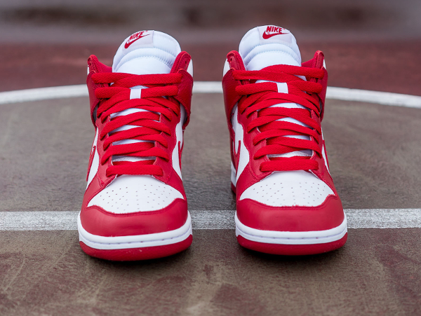 Nike Dunk High Retro University Red Be True To Your School 2016 (2)