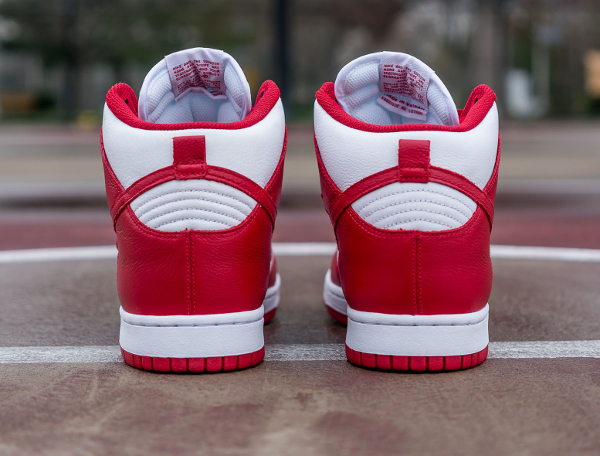 Nike Dunk High Retro University Red Be True To Your School 2016 (3)