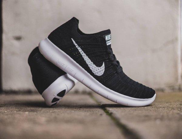 Nike Free Run Flyknit noire (1)