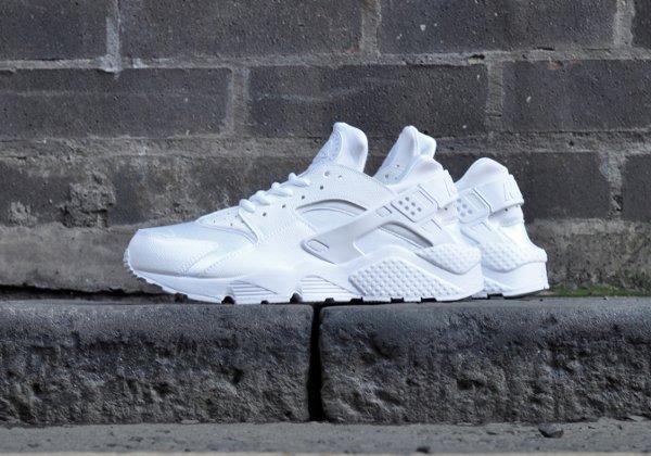 Nike Wmns Air Huarache blanche (3)