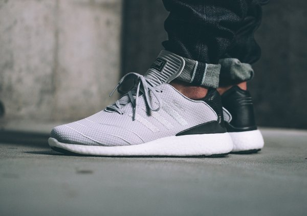 basket Adidas Pure Boost Busenitz Solid Grey