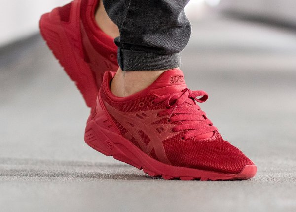 asics gel kayano evo rouge