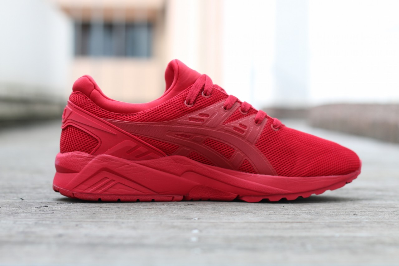 asics gel kayano trainer evo rouge