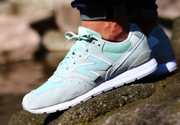 basket New Balance MLR 996 LH Suede Mint Cream (1-2)