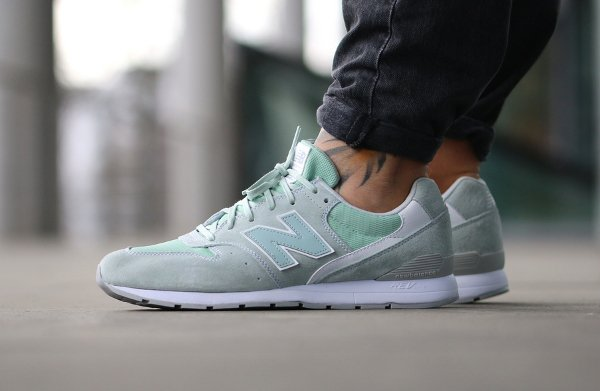 basket New Balance MLR 996 LH Suede Mint Cream (1)