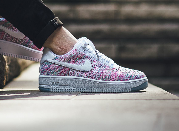 acheter populaire 3ccee ff25d Nike Air Force 1 Ultra Flyknit Low Multicolor 'Radiant Emerald'