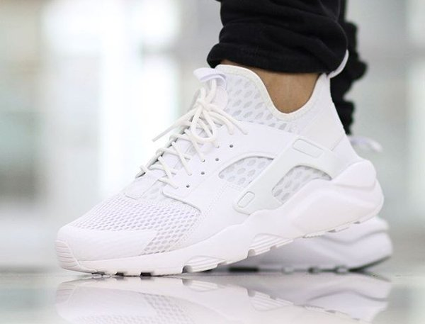 New Zealand Nike Air Huarache Run Ultra Noir And Blanc D2d27 44818