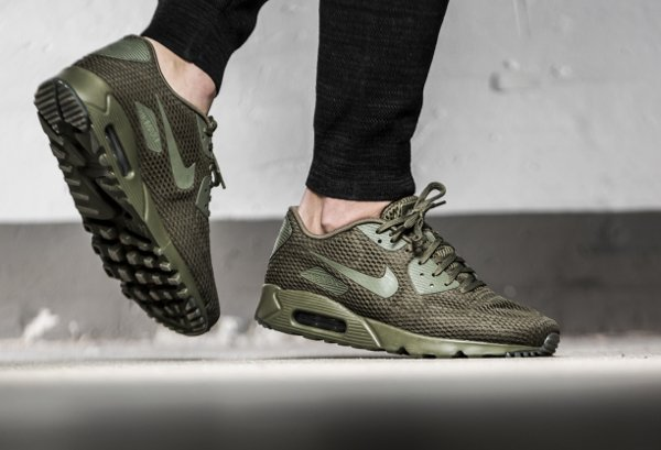 basket Nike Air Max 90 Ultra Breathe Medium Olive (2)