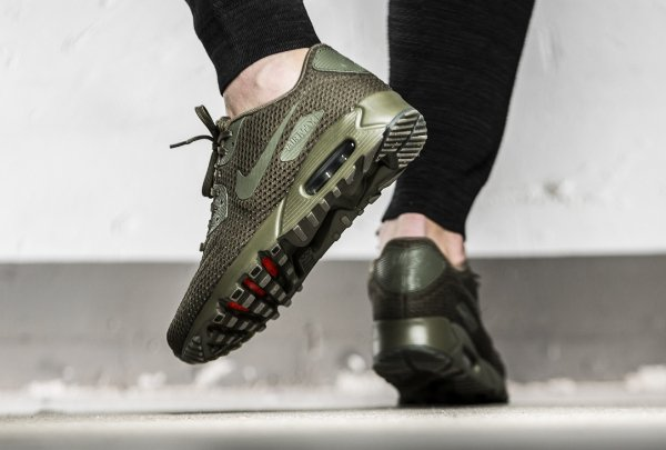 basket Nike Air Max 90 Ultra Breathe Medium Olive (3)
