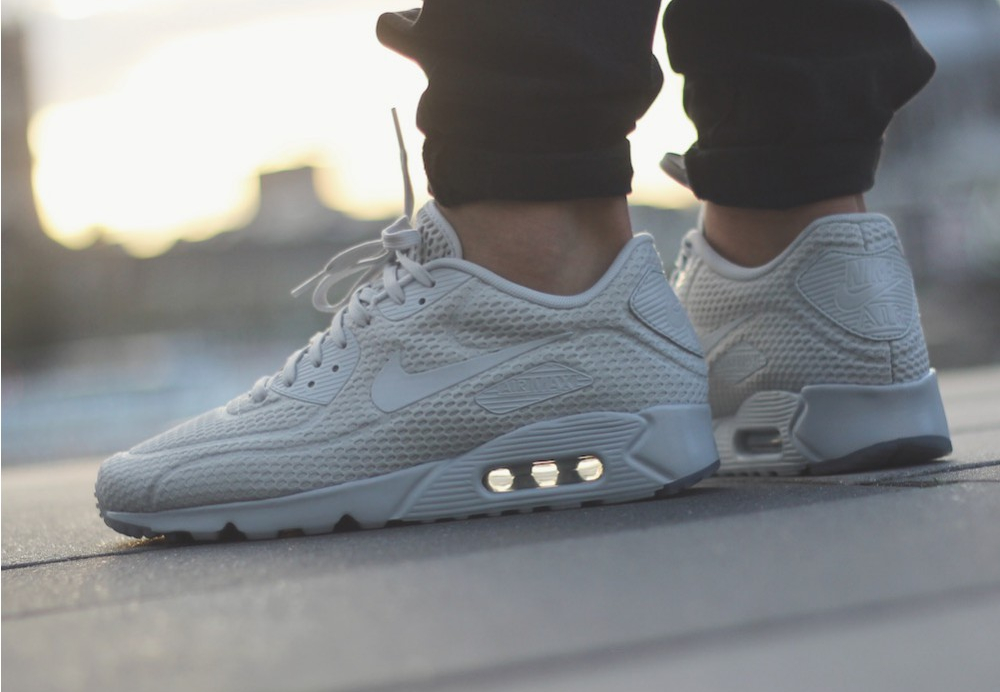 basket Nike Air Max 90 Ultra Breathe Pure Platinum (4)