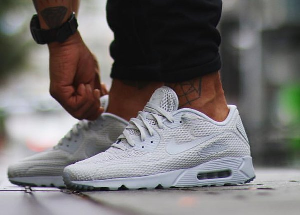 basket Nike Air Max 90 Ultra Breathe Pure Platinum