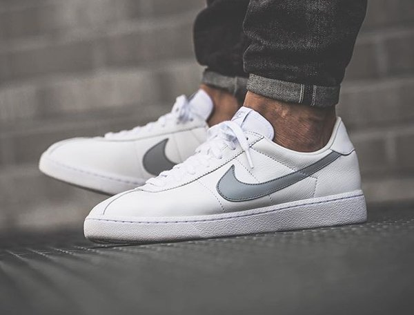 basket NikeLab Bruin Leather SP OG White Wolf Grey 2016 (0)