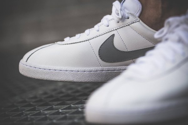 basket NikeLab Bruin Leather SP OG White Wolf Grey 2016 (5)
