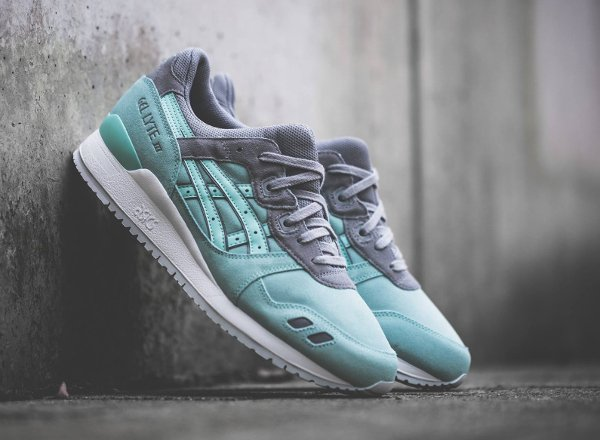 chausssure Asics Gel Lyte 3 Light Mint homme (1)