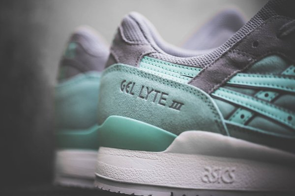 chausssure Asics Gel Lyte 3 Light Mint homme (2)