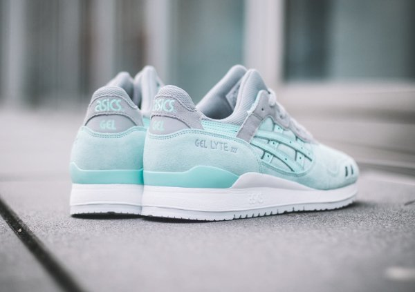 chausssure Asics Gel Lyte 3 Light Mint homme (3)