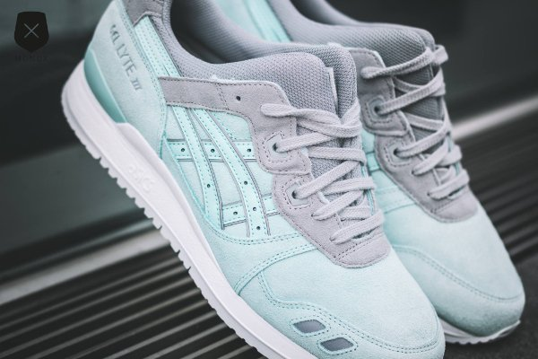 chausssure Asics Gel Lyte 3 Light Mint homme (4)