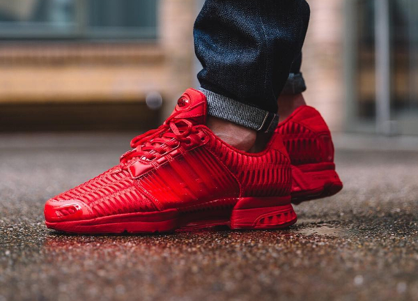 new styles e39c7 6baeb chaussure Adidas Climacool 1 Tonal Triple Red rouge