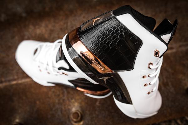 Air Retro 2016 Jordan XviiOg White Copper Metallic XZOkiwTPu