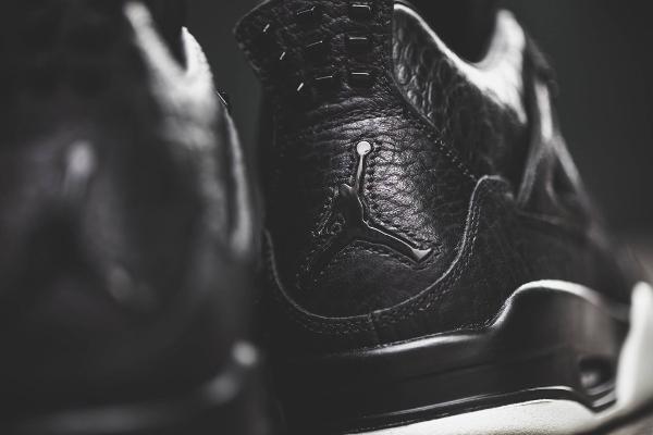 chaussure Air Jordan 4 Premium Pony Hair luxe homme (10)