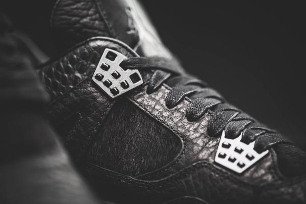 chaussure Air Jordan 4 Premium Pony Hair luxe homme (11)