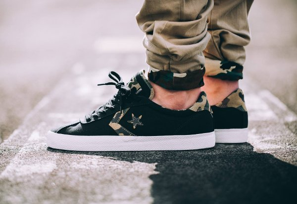 chaussure Converse Cons Breakpoint Ox Suede Black Camo (1)