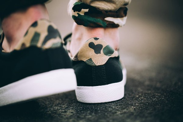 chaussure Converse Cons Breakpoint Ox Suede Black Camo (2)