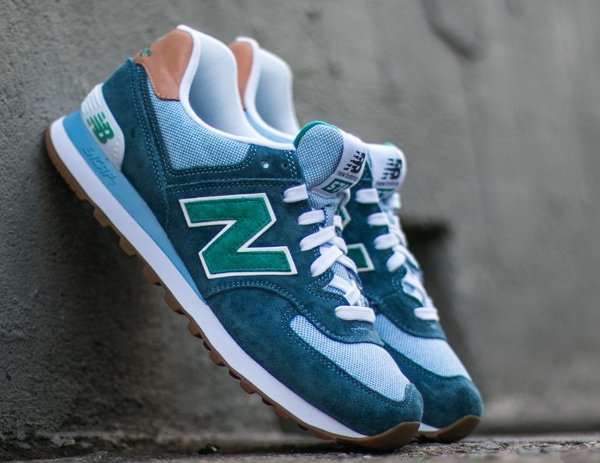 New Balance ML574PIA 'Lagoon Cornflower'