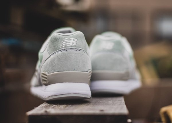 chaussure New Balance MRL996 daim vert menthe (2)