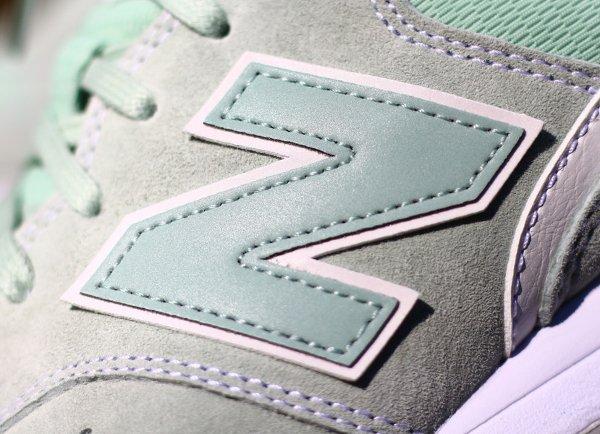 chaussure New Balance MRL996 daim vert menthe (4-1)