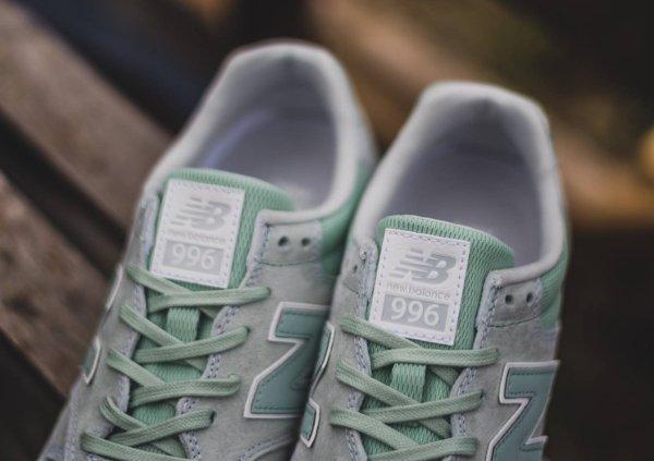 chaussure New Balance MRL996 daim vert menthe (4)