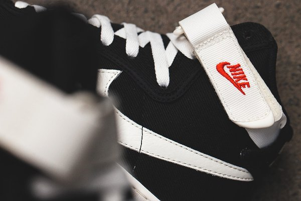 chaussure Nike Air Force 1 Hi Retro Black Sail (6)