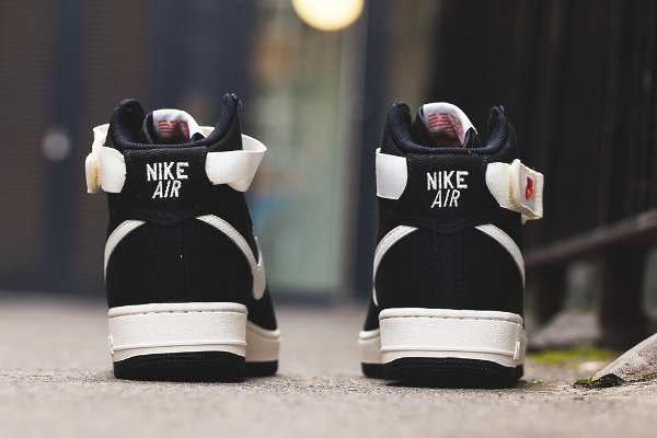 chaussure Nike Air Force 1 Hi Retro Black Sail (7)