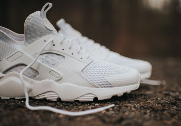 chaussure Nike Air Huarache Ultra Breathe blanche (4)