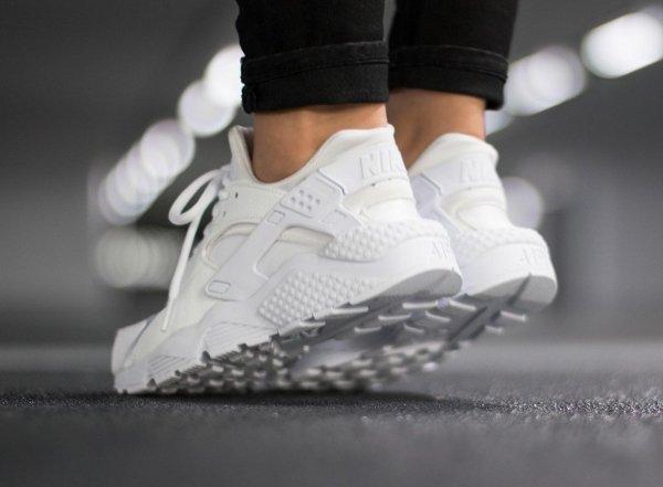 chaussure Nike Air Huarache White (blanc cassé) (3)