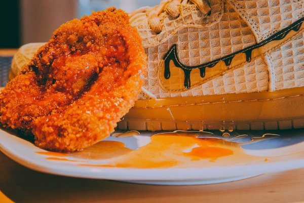 chaussure Nike Dunk High Pro SB Chicken and Waffles (4)